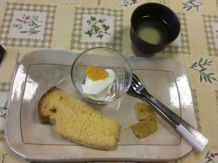 ケーキお米のシフォン
